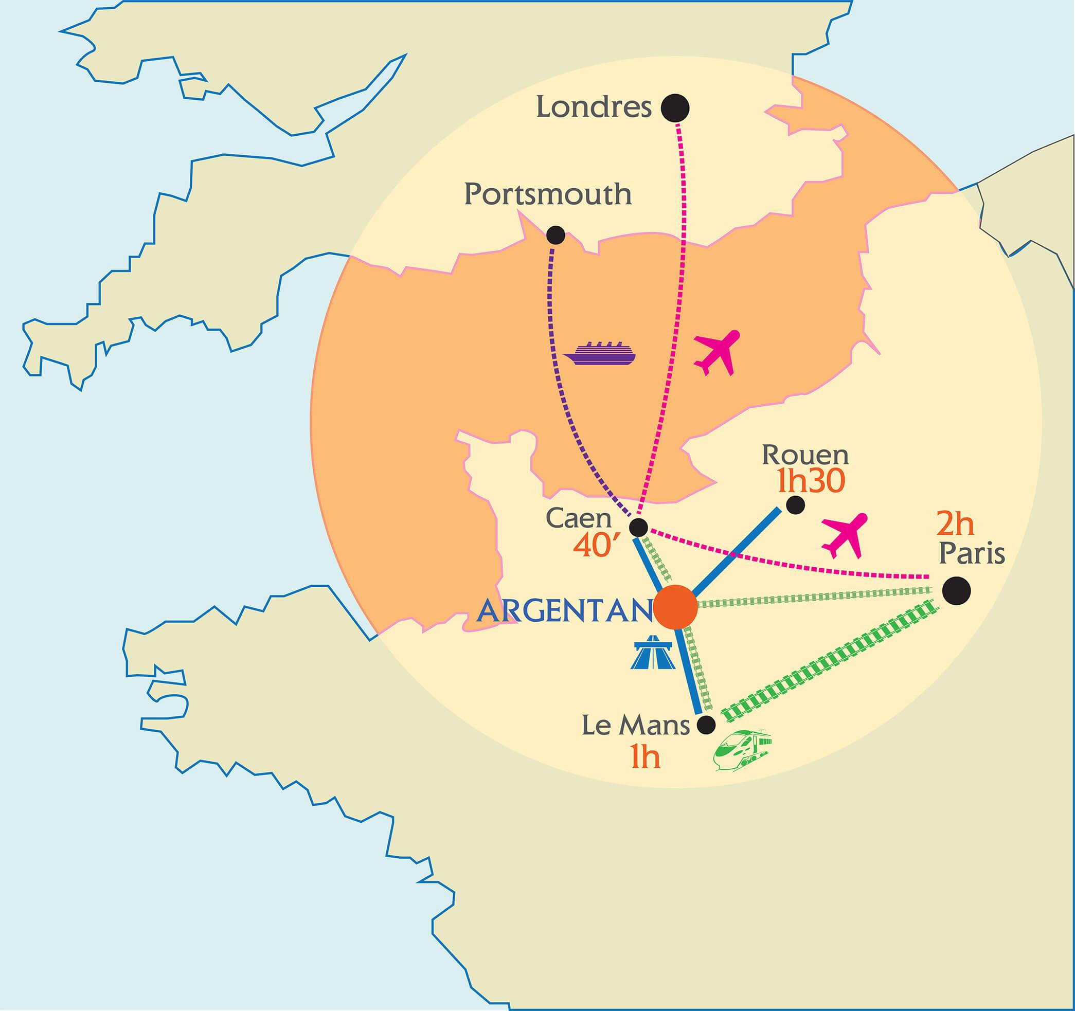 Carte de situation du territoire