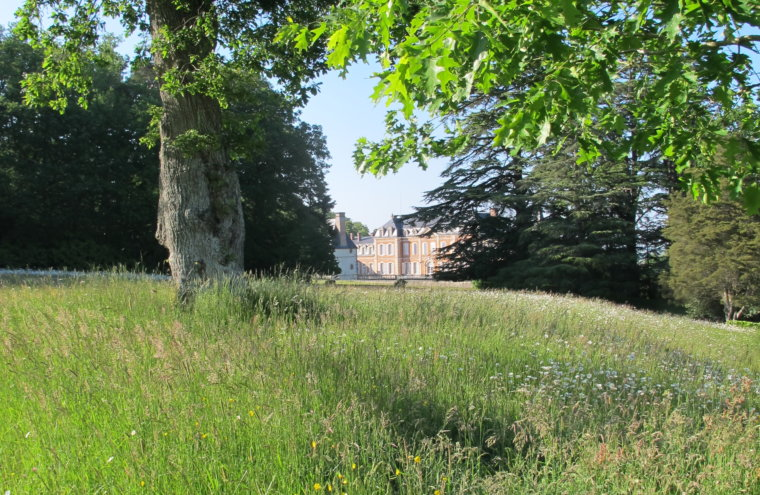 Château de Sassy à Boischampré dans l'Orne en Normandie