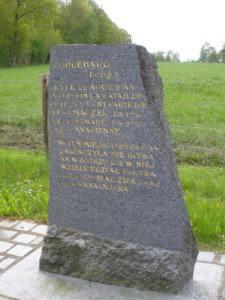 Monument dédié aux polonais - Coudehard