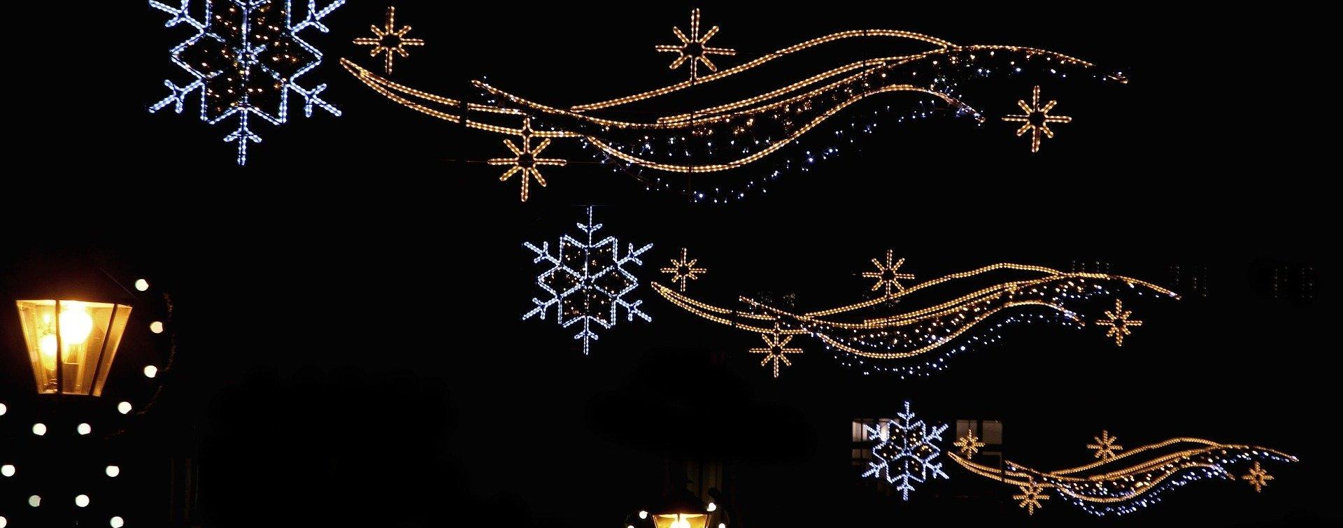 Illuminations de Noël dans l'Orne